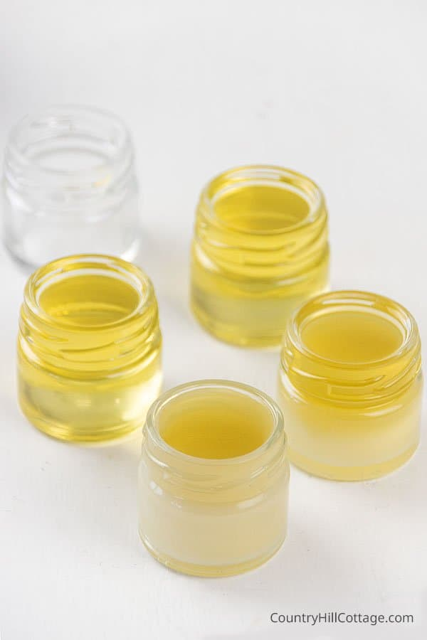 Lip balm with soy wax