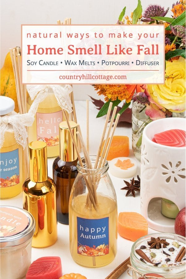 House Smell like Fall Naturally