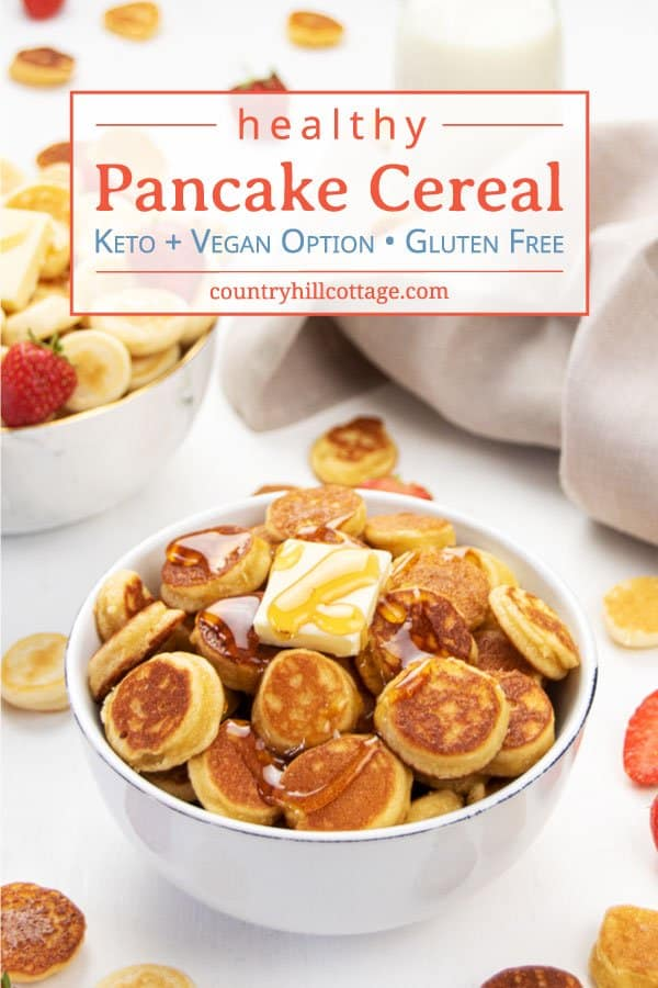 Mini Pancake Cereal Recipe