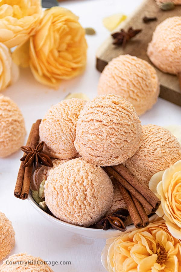 Pumpkin Spice Latte Bath Truffles Recipe