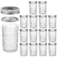 8-oz Quilted Mason Jars