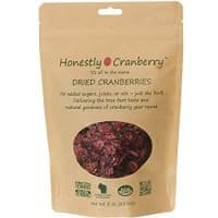 Unsweetened Dried Cranberries
