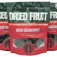 Paleo Dried Cranberries