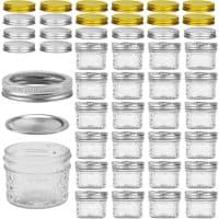 4-oz Qulited Mason Jars