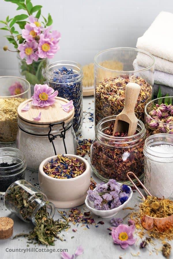 Materials for Bath Shots