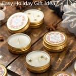 DIY Christmas tea lights