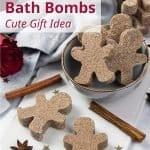 DIY Gingerbread Bath Bombs Recipe
