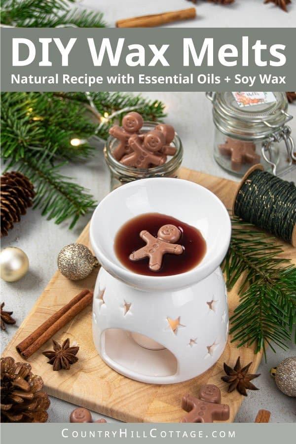 DYI gingerbread wax melts