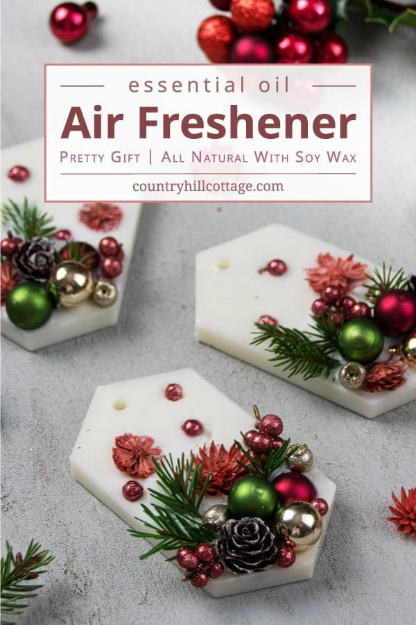 DIY Wax Air Freshener Scented Tablets
