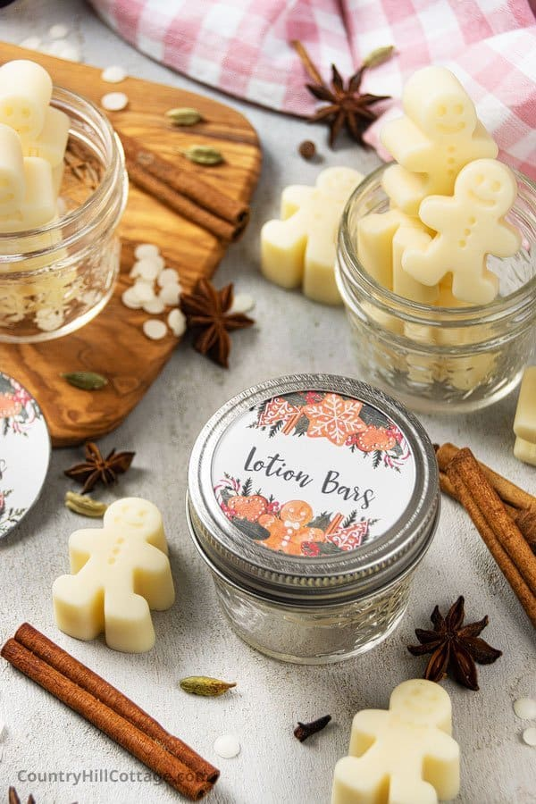 Homemade Christmas Gift with Free Printable Labels