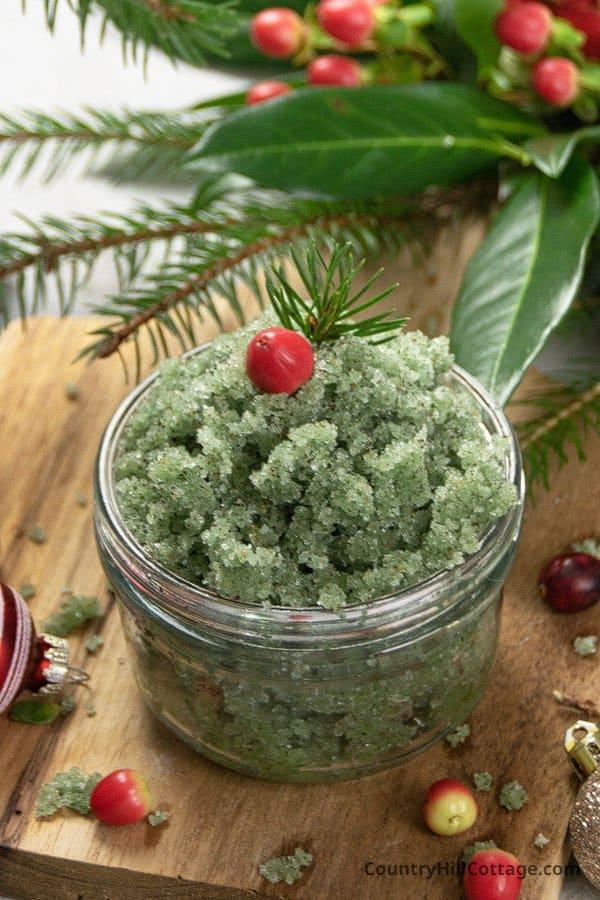 Christmas body scrub recipes