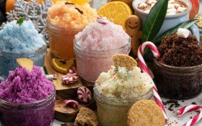 Homemade Christmas Sugar Scrub Recipes {+ Printable Labels}