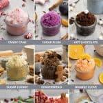 Christmas Sugar Scrub Recipes