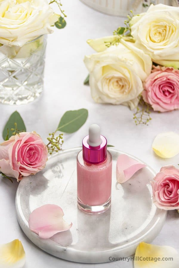 DIY Rose Serum