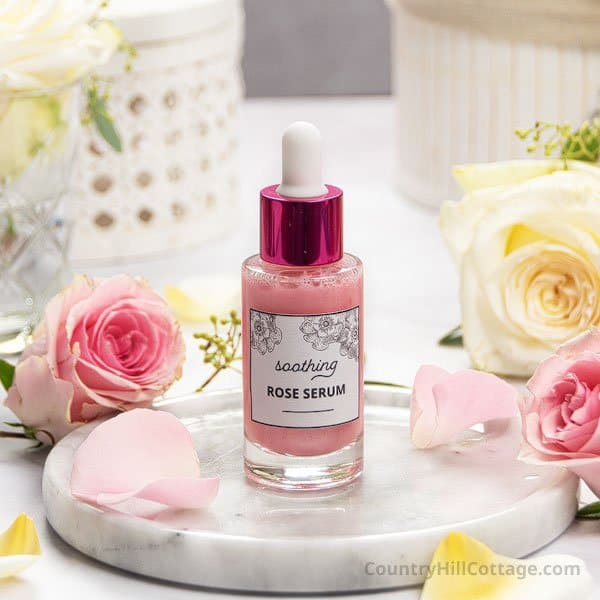 Soothing DIY Rose Serum for Sensitive Skin