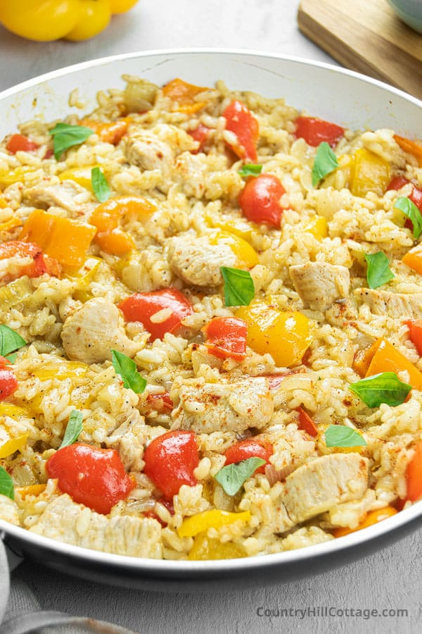 Healthy Chicken and Rice Recipe