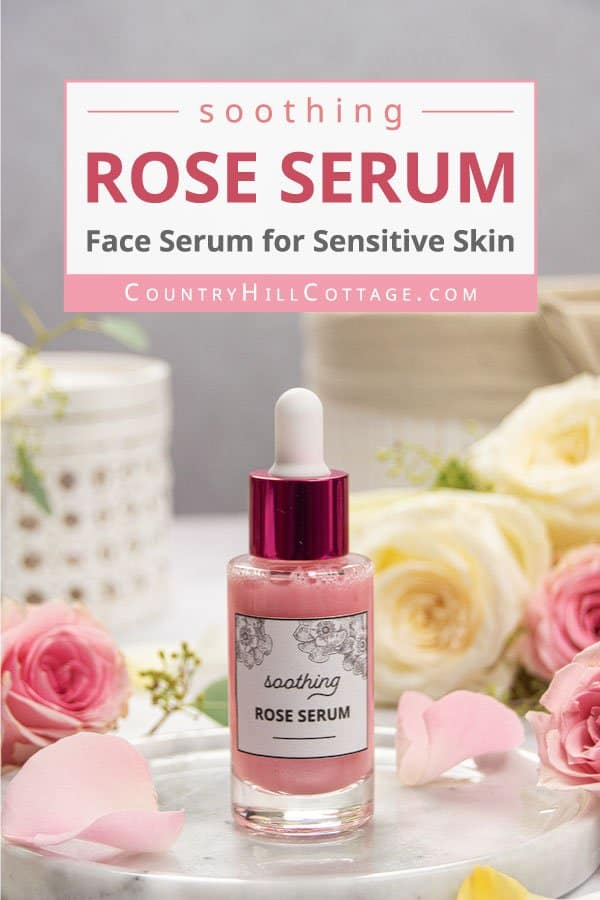 Rose Serum for Face