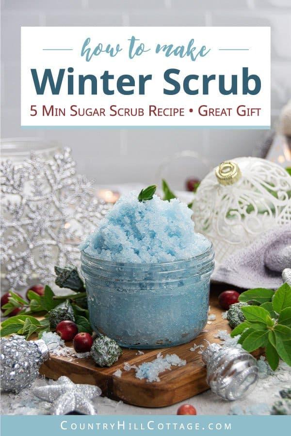 Wintergreen sugar scrub recipe