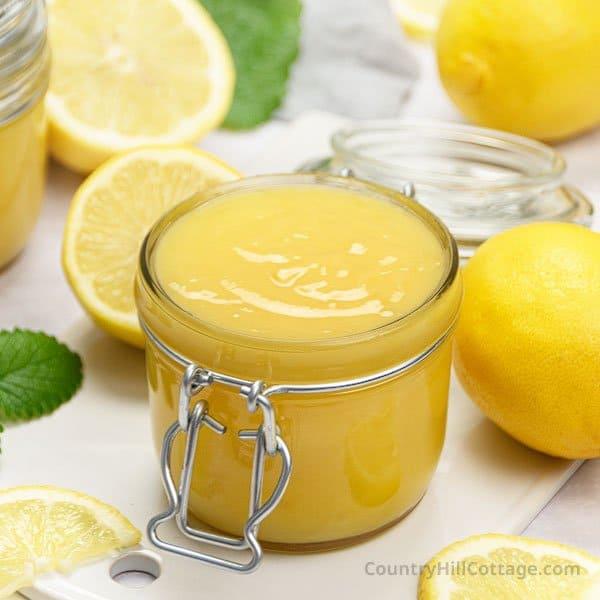 dairy free lemon curd recipe