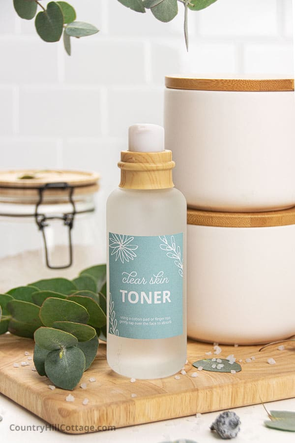 best diy toner for acne