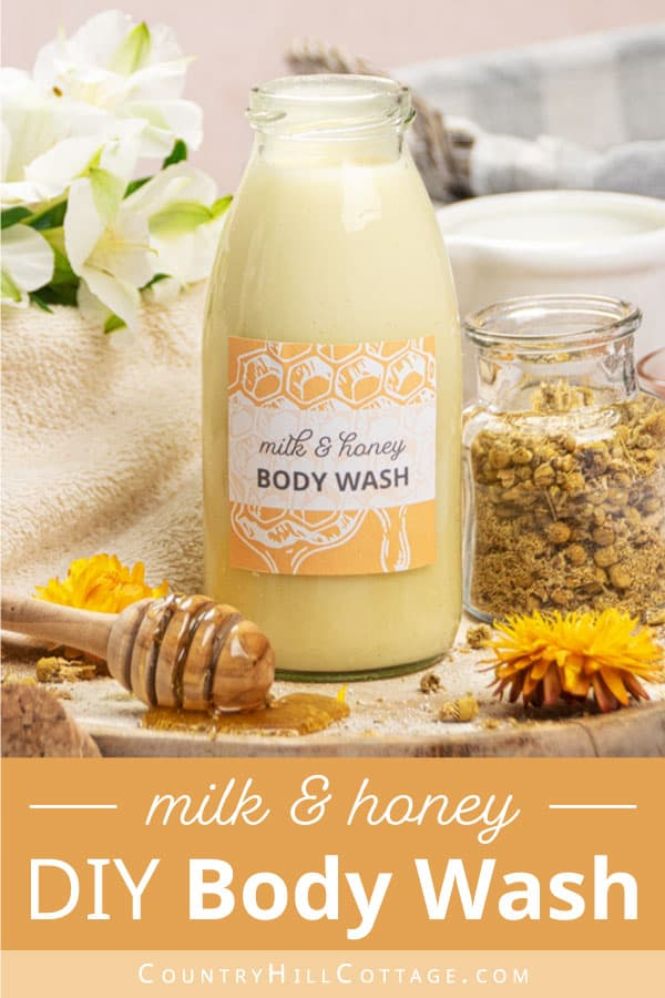 moisturizing milk and honey body wash