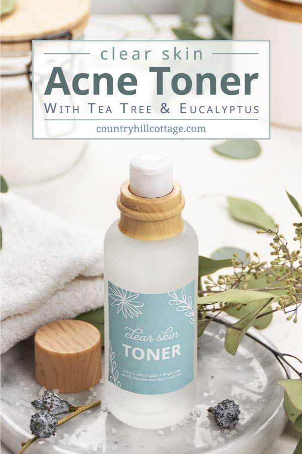 diy acne toner recipe