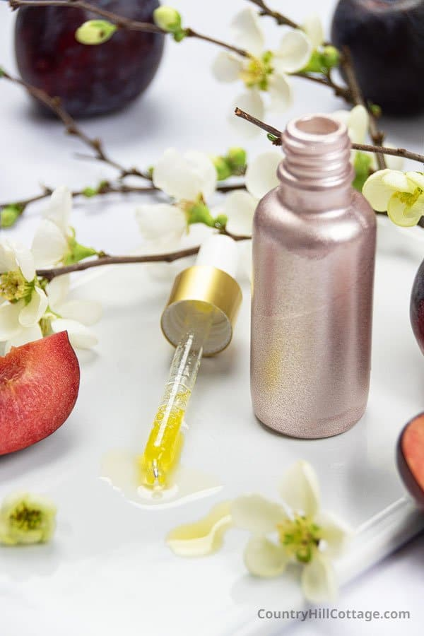 diy face serum for glowing skin