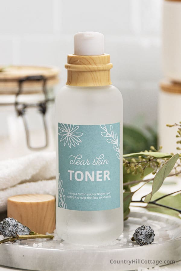diy toner for acne