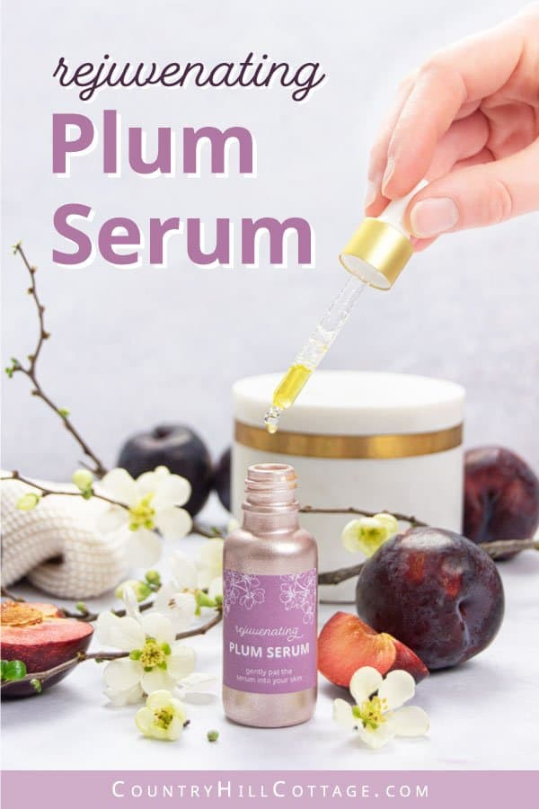 diy plum beauty oil