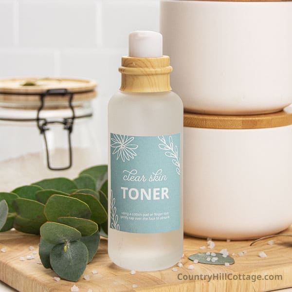 Homemade Toner for Acne
