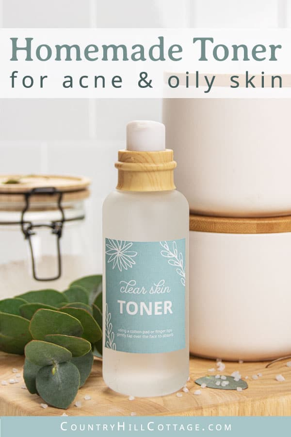 Homemade toner for acne scars