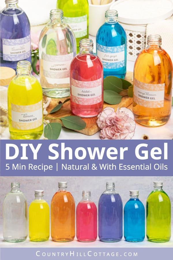 Shower Gel Formulation