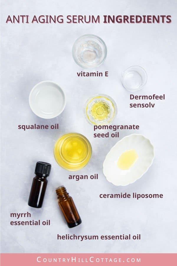 Anti aging serum ingredients