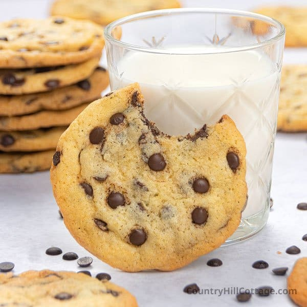 chocolate chip cookies without brown sugar