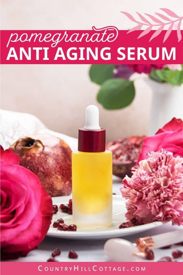 homemade serum for mature skin