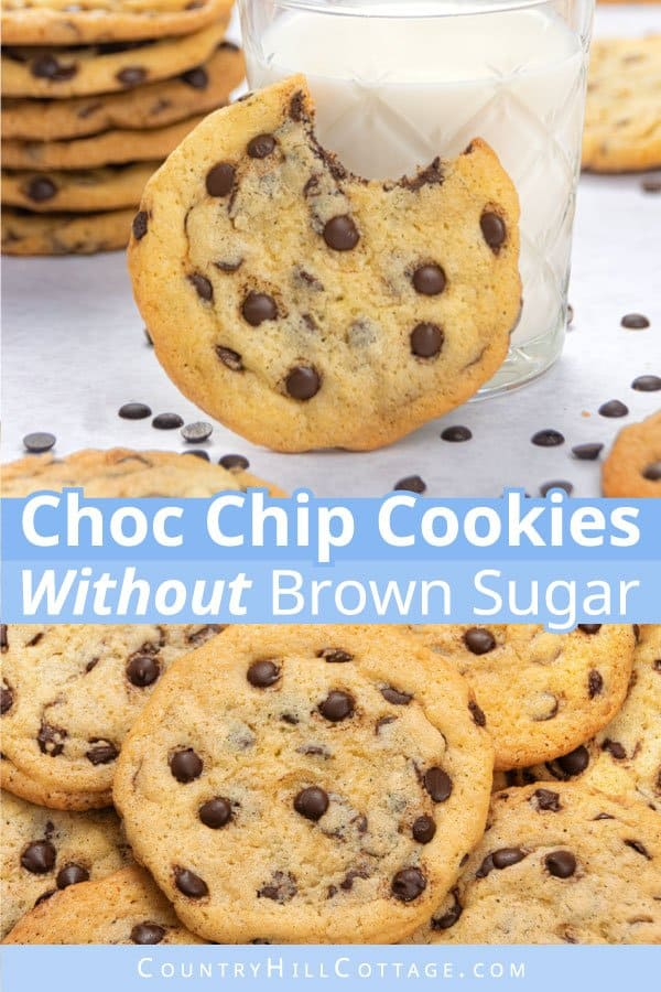 How to make chocolate chip cookies without brown sugar