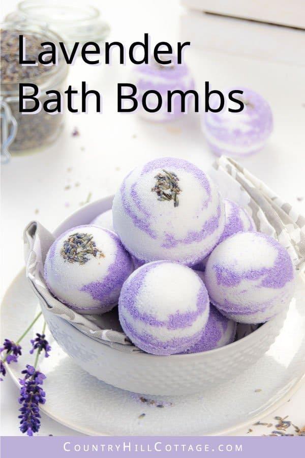 lavender bath bomb recipe