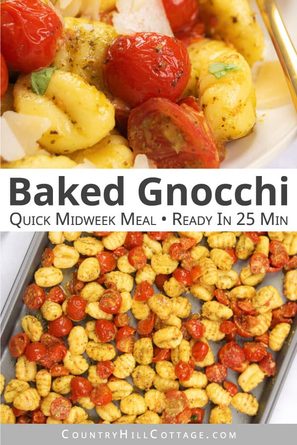 oven baked gnocchi