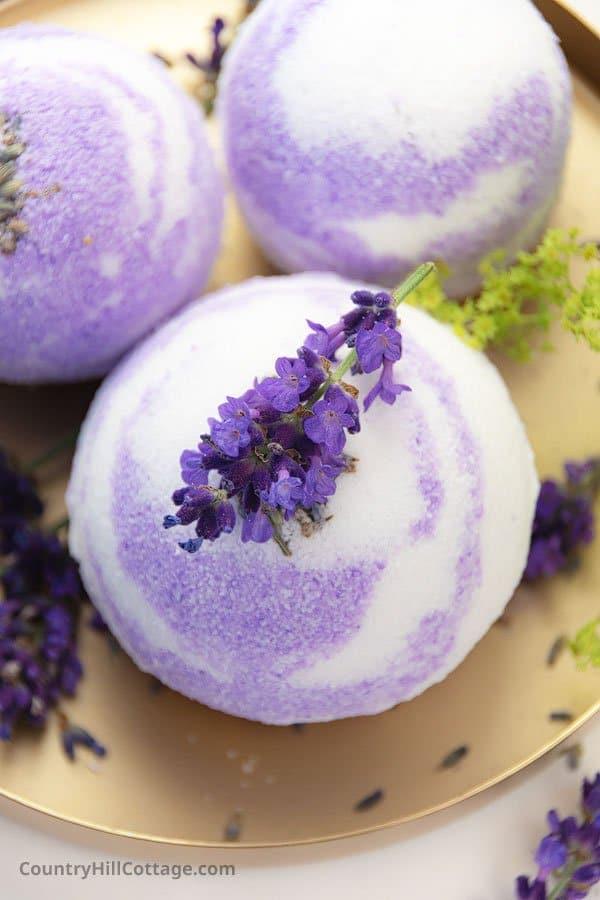 Purple Bath Bombs