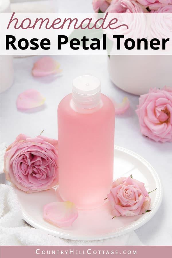 diy rose water toner