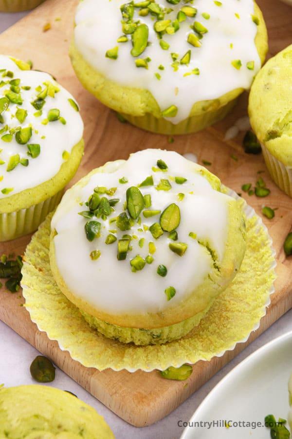 healthy pistachio muffins recipe