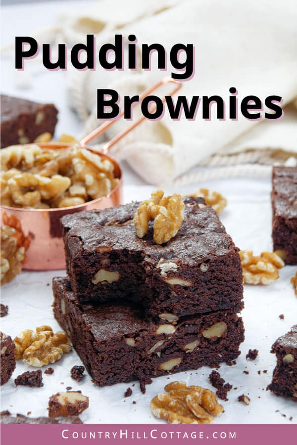 how to make brownies with pudding mix