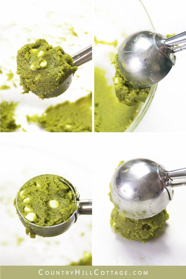 how to use a cookie scoop