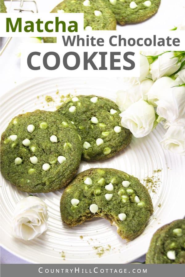 Matcha Chocolate Cookies