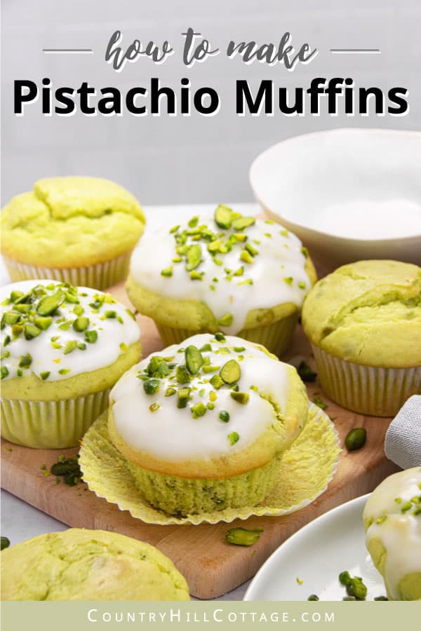 pistachio muffins with pudding mix