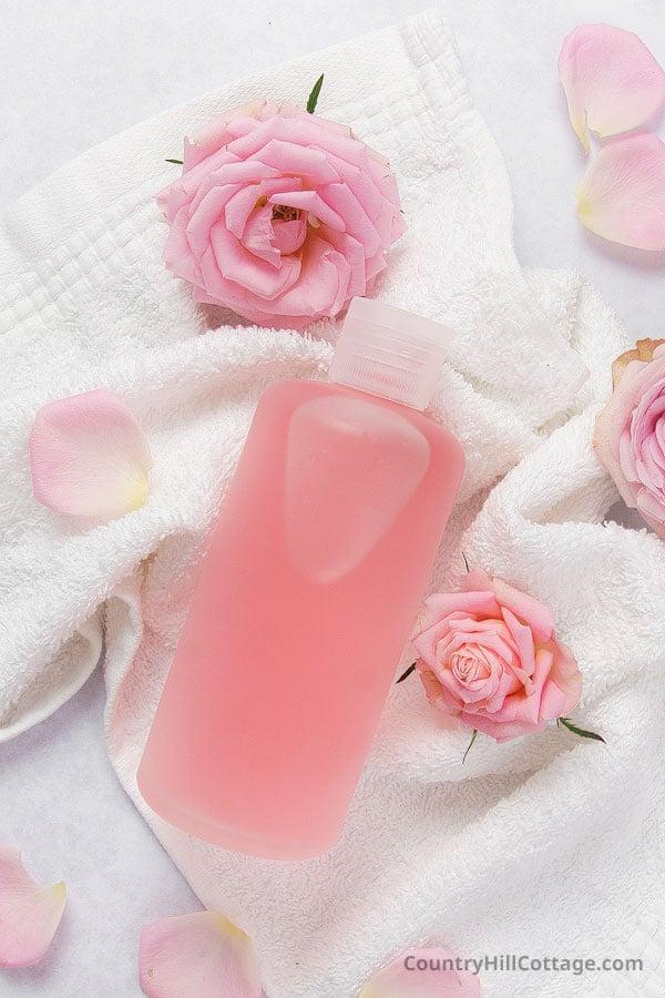 rose petal toner