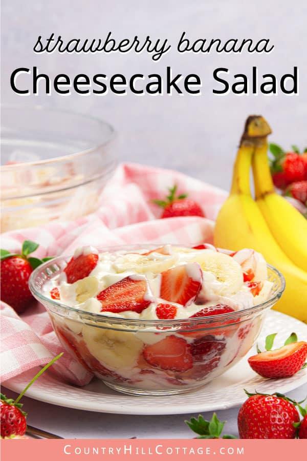 strawberry banana fruit salad recipe