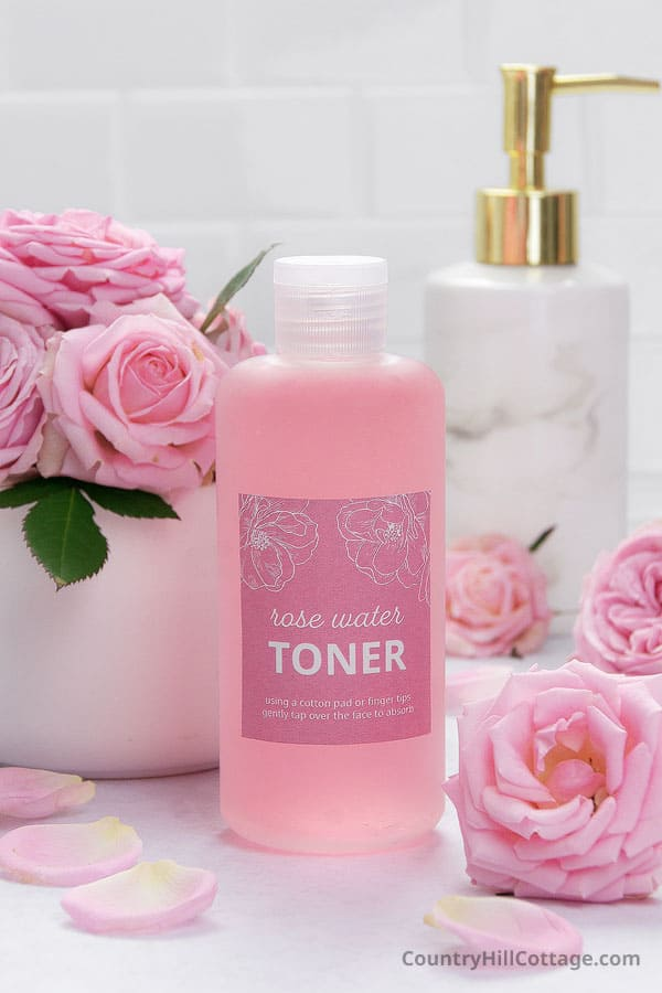 benefits of rose water toner