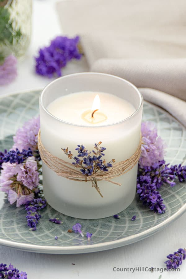 lavender candle recipe