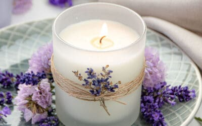 DIY Lavender Candle Recipe with Soy Wax and Essential Oils